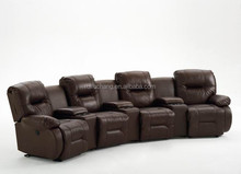 lazy boy home theater white leather single luxury electric recliner sofa