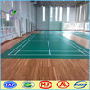 Protable badminton court, vinyl PVC wood flooring roll with lines