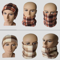 Cheap mannequin head for hat and scarf displays fur hat and scarf attached
