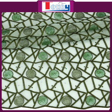 2015 summer new arrival and fashianable organza lace hand made sarees for brical dress