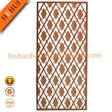Leading fashion hotel decoration patterns stainless steel perforated metal screen YY-C589