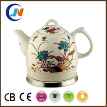 high quality 1.0L colour changing electric ceramic kettle