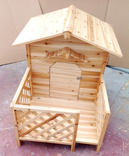 wooden pet house, happy cage, handmade dog kennel