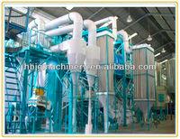 Automatic wheat/corn/rice/soya bean flour milling machine/flour grinding machine price