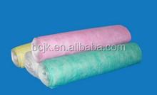 Polyester Material, Nonwoven Fiber, Carbon Filter Media on AHU/HVAC System Bag Filter (pocket filter)