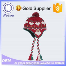 Ebay Best Selling Knitting Models and Cap Hat / Knitting Pattern Earflap Hat Beanie with a Ball