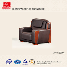 New designs big size boss room leather office sofa (E9066)