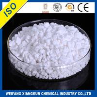 CaCl2 type snow melting salt/de-icing salt