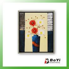 Wholesale Large Canvas Flower Oil Paintings
