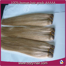 wholesale pure indian remy human hair weft,6A grade 100% human hair weft