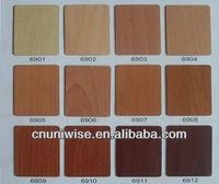 wood grain vinyl films/self adhesive decorative paper for furniture
