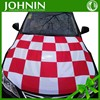 Professional Custom High Quality Knitted Polyester Car Hood Cover