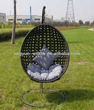 PE Rattan Swing Chair,hanging rattan egg chair(PH-01)