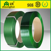 2015 alibaba china manufacturer supply plastic packing materials polyester strapping