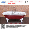 Superior antique cast iron bathtub , enamel bathtub wholesale