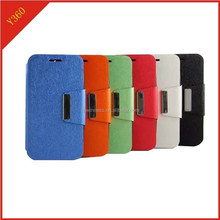 case for huawei ascend Y360 pu leather cover for huawei ascend Y360 slip stand cover
