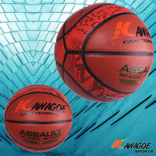 custom leather advertising basketballs