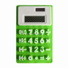 Silicon solar calculator electronic mini calculator
