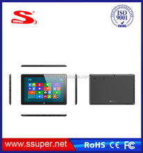 10.1 inch IPS panel intel Quad core 2.0mp+5.0mp dual camera win8 tablet pc laptop notebook