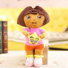 Fashion Toys Dora The Explorer Plush Playset Soft Stuff Doll