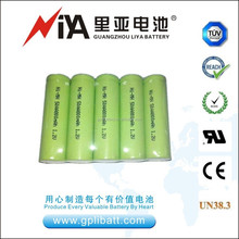 1.2V rechargeable Ni-MH battery AA size for solar energy lamp