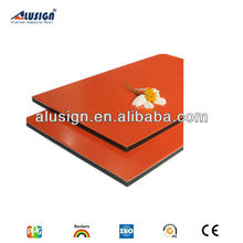 3mm two side Pvdf/pe Coated high quality aluminum composite panel(acp)
