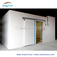PU panel prefab air conditioner cold room