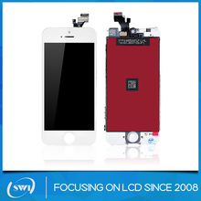 For apple iphone 5 digitizer lcd with touch screen glass replacement