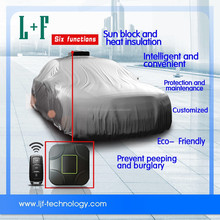 LJF-002 easy pick up car cover UV protection car cover