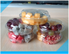 2015 hot sale clear plastic fruit salad tray/packaging box