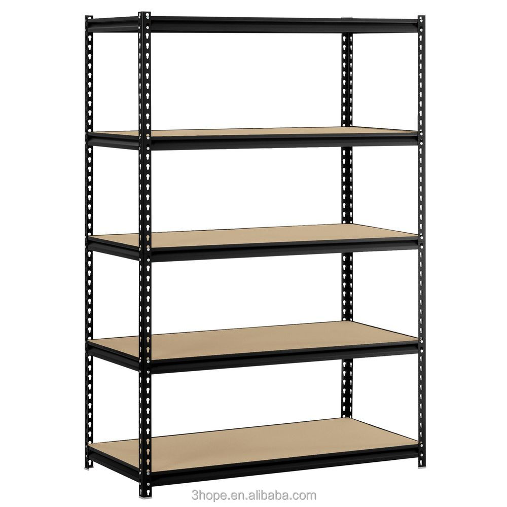 3 rayonnages baies 5 niveau tag re de garage de stockage racks heavy duty tag res en acier. Black Bedroom Furniture Sets. Home Design Ideas
