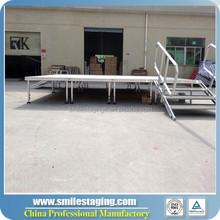 event staging 1*1m event stage decorations for festival decoration aluminum stage platform