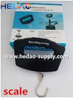 50Kg/10g LCD Digital Electronic Portable Hanging Luggage mini digital scale