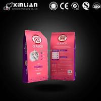 China factory price eight side sealing pet food bag