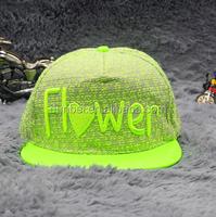 wholesale 2015 new fashion fluorescence ladies knit cap