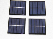 Customized 60*60mm 3V 0.3W low price mini solar panel