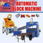 Semi máquina de tijolo de cimento QT5-15 bloco que faz a máquina automática