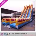 Deslizamento inflável e slide, escorrega gigante para venda, contra os raios uv super inflável slide