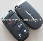 Top best 3+1 button smart card cover for chrysler car key blanks custom car keys