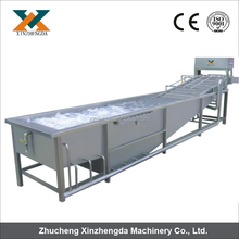 Food processing machine/Popular Water saving air bubble vegetable&fruit washer machine 0086+15202132239
