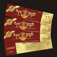 Hologram coupons, scratch coupon with custom printing