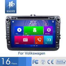 Factory Supply Universal Car Make Touch Screen Car Radio Gps For Vw Golf 6 Tiguan