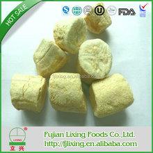 Certificado orgánico liofilizado plátano cortes ( 15 - 20 mm ) FD frutas orgánico cultivo