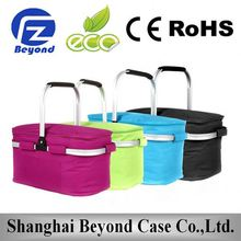 TOP Selling Portable Outdoor recycled pet cooler bag with strong plastic handles