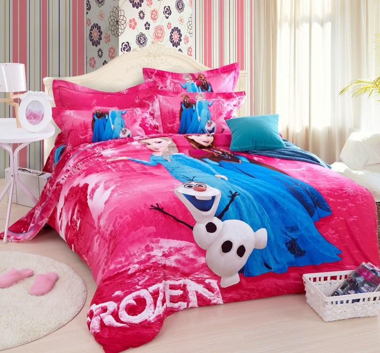 Frozen Single Bedding Set Images