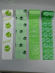 eco-friendly pet waste bag with pill dispenser