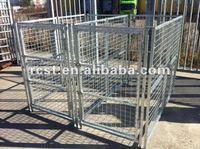 square tube dog kennel