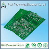 (PCB printed circuit board) gps tracking pcb, pcb circuit boards in multilayer