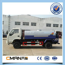 China high quality 4*2 Foton water tank truck 5000L right hand driving hot sale