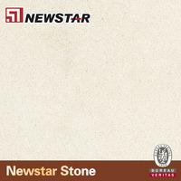 NQ2026P--Newstar pacific sahara beige man made quartz slab /countertop
